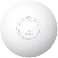 Champro Official Lacrosse Ball w/ NOCSAE Stamp, White (dz)