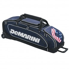 "DeMarini Special Ops Wheeled Bag, 38.5"" L x 15"" W x 12"" H"