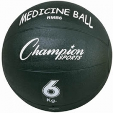Champion RMB6 Rubber Medicine Ball, 6 Kilo / 13 lb.