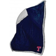 Texas Rangers Sherpa Velour/Faux Lambs Wool Throw