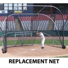 Jaypro REPLACEMENT NET for Portable Batting Cage, BBLS-12