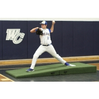 Proper Pitch Fold'n Roll Indoor Mound, Green