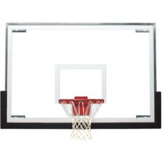 Spalding 411-008 SuperGlass Scholastic Basketball Backboard, 48""