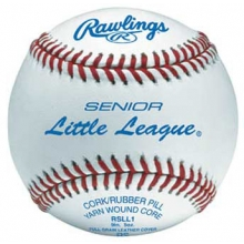 Rawlings RSLL1 Senior Little League Baseballs, dz