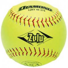 Diamond 12RYSC 44/375 Zulu Slowpitch Softball, 12''