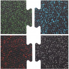 Loktuff Protective Weight Room Rubber Flooring, Colors