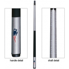 New England Patriots NFL Billiards Cue Stick