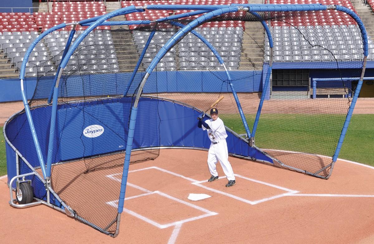 Jaypro Bglc 7500 Big League Professional Portable Batting Cage