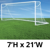 Jaypro Nova Club Goals, Round, 7'H x 21'W (pair)