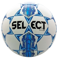Select Club Soccer Ball, Royal Blue, Size 5