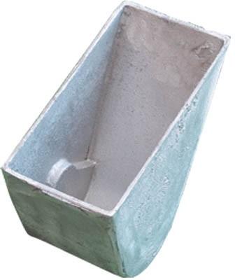 Cast aluminum lower housing
