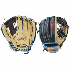 Wilson A500 WTA05RB18115 Youth Baseball Glove, 11.5""
