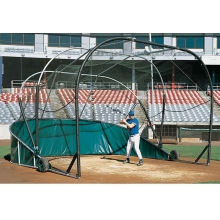 Jaypro Grand Slam Portable Backstop Batting Cage, BBGS-18