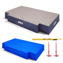 "Gill S4 NCAA/NFHS High Jump Pit Valuepack, 16'6""x10'x26"", VP64217"