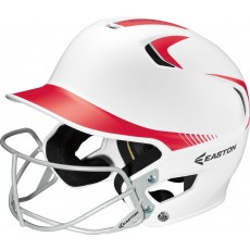 Easton Z5 Fastpitch JUNIOR Two Tone Batting Helmet w/ Facemask
