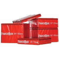 Power Max TA225 Soft Plyo Box Package, set of 5