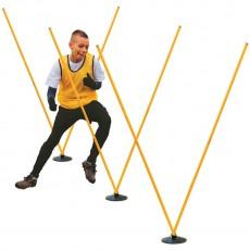Champion PROAGSET Pro Agility Coaching Stick Hurdle Set