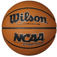 "Wilson NCAA Street Shot Basketball, JUNIOR, 27.5"""