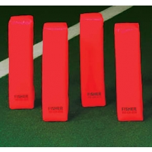 Fisher Deluxe 3lb Weighted End Zone Pylons, PY1, set/4
