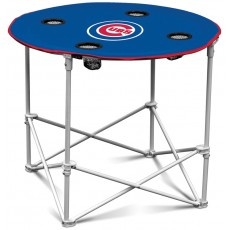 Chicago Cubs MLB Pop-Up/Folding Round Table