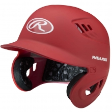 Rawlings Coolflo Matte Fitted Batting Helmet, CFABHNM
