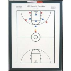 "KBA Magnetic Playmaker Basketball Coaching Board, 24"" x 36"""