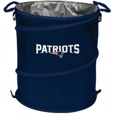 New England Patriots NFL Collapsible 3-in-1 Hamper/Cooler/Trashcan