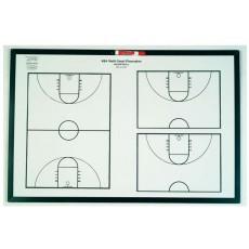 "KBA Multi-Court Playmaker Basketball Coaching Board, 24"" x 36"""