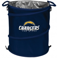 San Diego Chargers NFL Collapsible 3-in-1 Hamper/Cooler/Trashcan