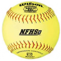 """Wilson A9011BSST 47/375 NFHS Softballs, 12"""", dz"""