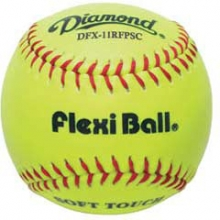 "Diamond DFX-11RFPSC Flexi Ball Synthetic Softball, 11"", dz"