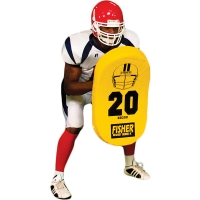 Fisher HD200 Atlantic Curved Football Body Shield