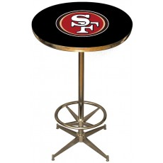 San Francisco 49ers NFL Pub Table