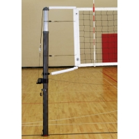 Bison VB7000NS CarbonMax Carbon Fiber Composite Volleyball Net System, UPRIGHTS ONLY