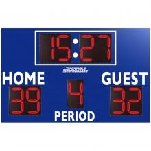 Sportable Scoreboards 3450 Soccer / Multi-Sport Scoreboard, 8'W x 6'H