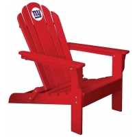 New York Giants NFL Folding Adirondack Chair, RED