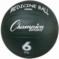 Champion RMB6 Rubber Medicine Ball, 6 Kilo / 13 lb.
