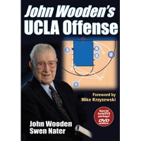 John Wooden's UCLA Offense, Book w/DVD