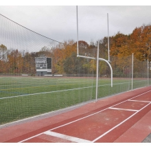 Jaypro 15' x 65' Lacrosse/Multi-Sport Ball Stop Barrier Netting System, FNMB-65