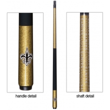 New Orleans Saints NFL Billiards Cue Stick