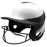 Rip-It VISS Fastpitch Batting Helmet w/Mask, HOME, XS