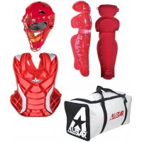 All Star Fastpitch Softball Catcher's Gear Kit, AGE 7-9