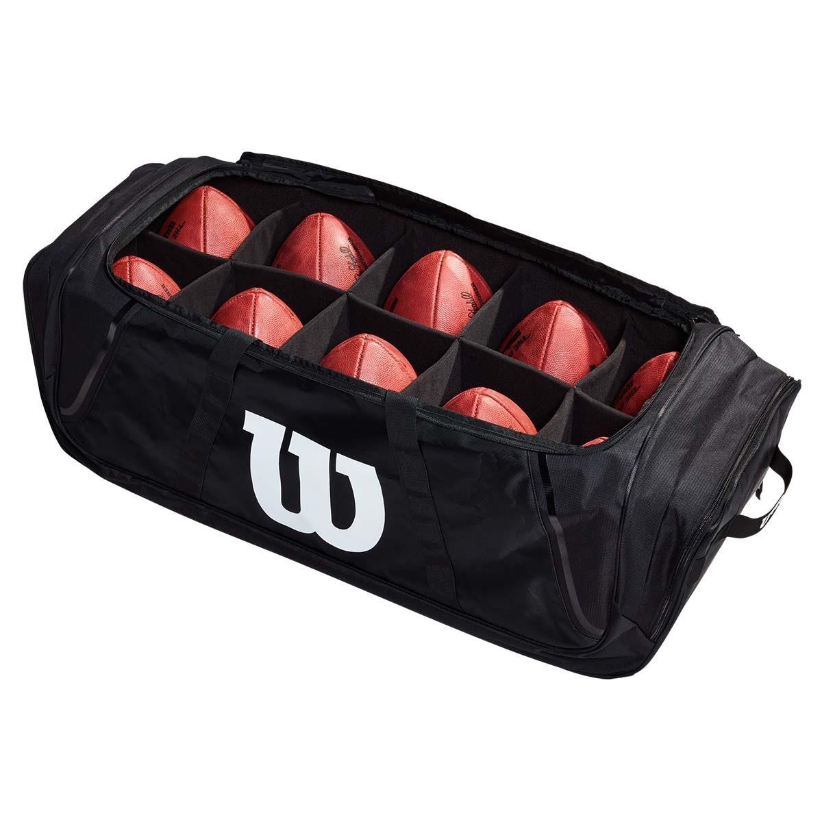Wilson 10 Football Duffle Bag