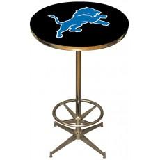 Detroit Lions NFL Pub Table