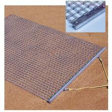 Baseball/Softball Infield Steel Drag Mat, 3'W x 5'L