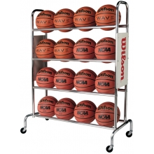 Wilson WTB1801 Deluxe Basketball Rack