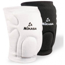 Mikasa 830 Advanced Competition Volleyball Knee Pads, WHITE