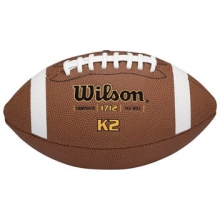 Wilson K2 Official Composite Football, under 10