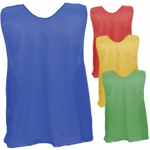 Champion YOUTH Scrimmage Vest Pinnies, Open Bottom, PSY