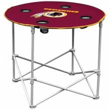 Washington Redskins NFL Pop-Up/Folding Round Table